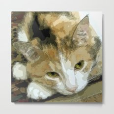 My book Collection Peanut & Lily Metal Print