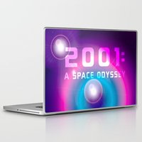 2001 Laptop & iPad Skins featuring 2001 a Space Odyssey by Scar Design