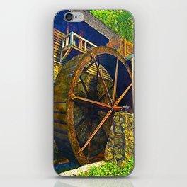 Gristmill Water Wheel iPhone Skin