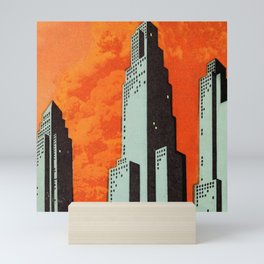 Hot Weather, Hot Fire Mini Art Print