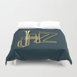 Virtuous Jazz Duvet Cover