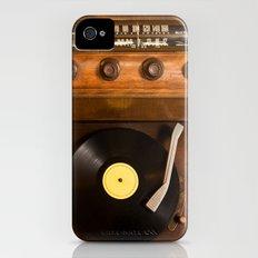 Listen to the Vinyl iPhone (4, 4s) Slim Case