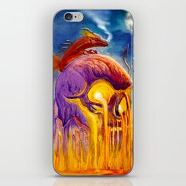 A Night On Skull Mountain iPhone Skin
