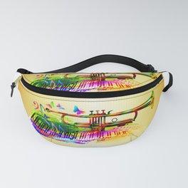 Summer music instruments design Fanny Pack