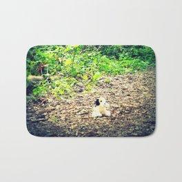 Lost Puppy Dog Bath Mat
