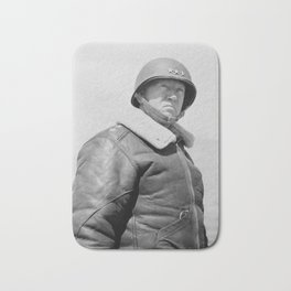General George Patton Bath Mat