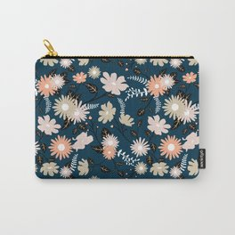 Marseille - Floral Pattern Carry-All Pouch