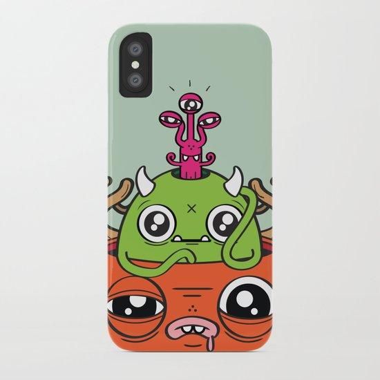 Monster Mind iPhone Case