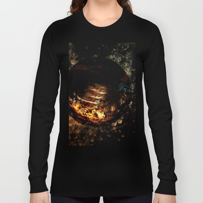 water Fire Long Sleeve T-shirt