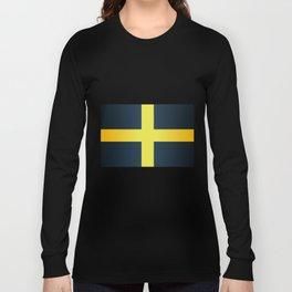 Flag of Saint David Of Wales Long Sleeve T-shirt