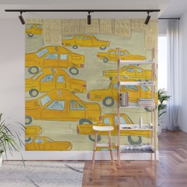 Taxis Wall Mural