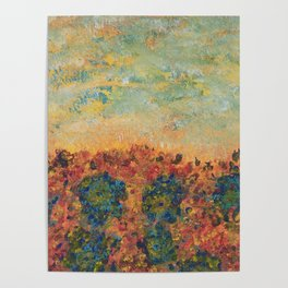 Flowers of Provence Poster