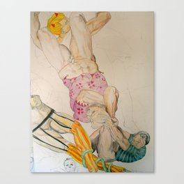 Michelangelo con ... Canvas Print