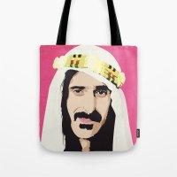 zappa Tote Bags featuring ZAPPA! by f_e_l_i_x_x