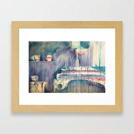 Café (II) Framed Art Print