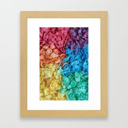 Fruity Pebbles I Framed Art Print