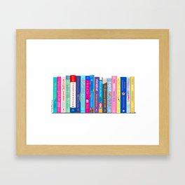 Romance Books Framed Art Print