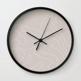 Drape I Wall Clock