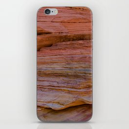 Colorful Sandstone, Valley of Fire - IIa iPhone Skin