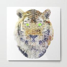 biomec poly tiger Metal Print