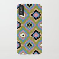kilim iPhone & iPod Cases featuring Modern Kilim by Alisse Courter