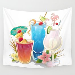 Tropical Drink #3 Wall Tapestry