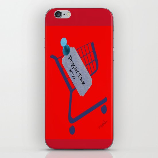 Poppin Tags-Thrift Shop Song-Macklemore iPhone & iPod Skin