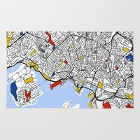 oslo Area & Throw Rugs featuring Oslo by Mondrian Maps