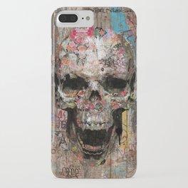Romantic Street Skull iPhone Case