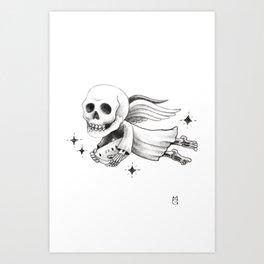 El angel Art Print