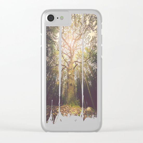 The taller we are Clear iPhone Case