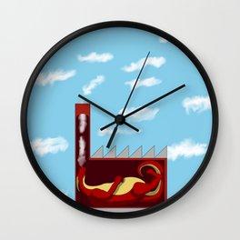 Cloud Factory Wall Clock