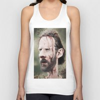 grimes Tank Tops featuring Rick Grimes by dbruce