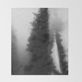 What Lies Down Hidden Rain Drenched Paths Throw Blanket