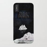 polar bear iPhone & iPod Cases featuring Polar Bear by Sandra Dieckmann