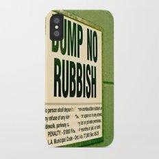 Rubbish Slim Case iPhone X