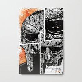MF Doom Metal Print