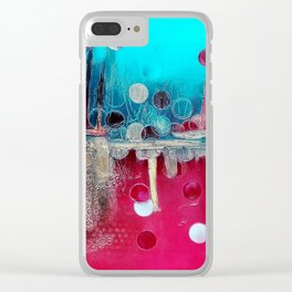 I feel the mood... Clear iPhone Case