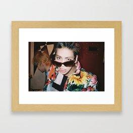 Jonghyun - SHINee Framed Art Print