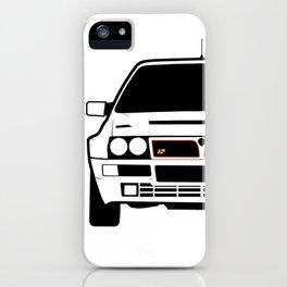 Lancia Delta HF Integrale Vector iPhone Case