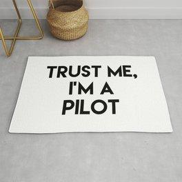Trust me I'm a pilot Rug