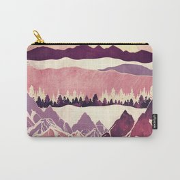 Burgundy Hills Carry-All Pouch