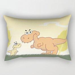 Mother and Child Rectangular Pillow