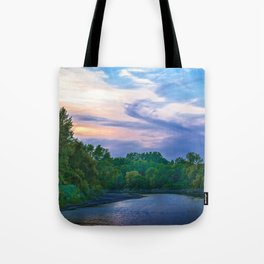 Little Racoon River Tote Bag