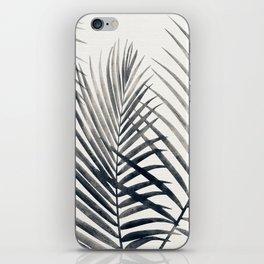 Black and White Palms iPhone Skin