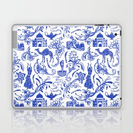 Arabian Nights // China Blue Laptop & iPad Skin