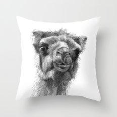 Bactrian Camel SK0103 Throw Pillow