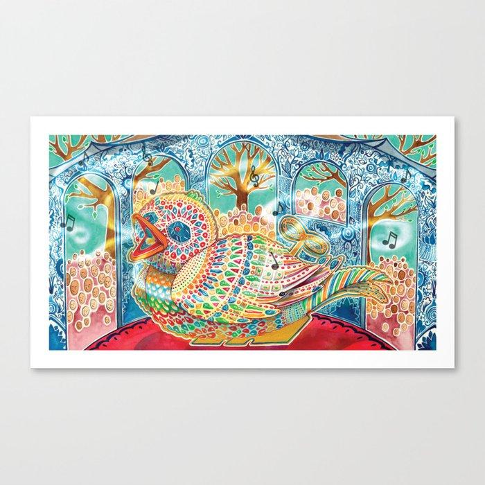 The Nightingale Series - 5 of 8 Canvas Print