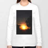 ufo Long Sleeve T-shirts featuring UFO by Shemaine