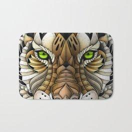 Ornate Tiger Bath Mat